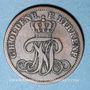 Coins Oldenbourg. Nicolas Frédéric Pierre (1853-1900). 2 pfennig 1858 B