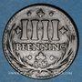 Coins Osnabruck. Ville. 4 pfennig 1726 IW