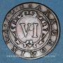 Coins Paderborn. François Arnold de Wolff-Metternich zu Gracht (1704-1718). 6 pfennig 1706