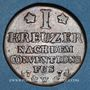 Coins Palatinat-Birkenfeld-Deux-Ponts. Christian IV (1735-1775). 1 kreuzer 1774 W