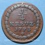 Coins Palatinat-Soulzbach. Charles Théodore (1742-1799). 1/4 kreuzer 1773