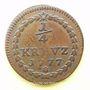Coins Palatinat-Soulzbach. Charles Théodore (1742-1799). 1/4 kreuzer 1777