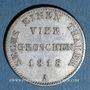 Coins Prusse. Frédéric Guillaume III (1797-1840). 1/6 taler (= 4 groschen) 1818 A