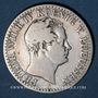 Coins Prusse. Frédéric Guillaume IV (1840-1861). 1/6 taler 1842 A