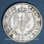 Coins Prusse. Frédéric Guillaume IV (1840-1861). 1/6 taler 1843 A