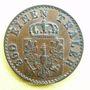 Coins Prusse. Frédéric Guillaume IV (1840-1861). 1 pfennig 1852 A