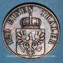 Coins Prusse. Frédéric Guillaume IV (1840-1861). 3 pfennig 1855 A