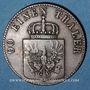 Coins Prusse. Frédéric Guillaume IV (1840-1861). 4 pfennig 1848 D