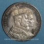 Coins Prusse. Guillaume I (1861-1888). Taler de couronnement 1861 A. Berlin