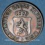 Coins Reuss. Branche aînée. Henri XXII (1859-1902). 3 pfennig 1864