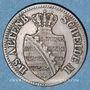 Coins Saxe-Altenbourg. Ernest I (1853-1908). 1 pfennig 1863 B