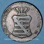 Coins Saxe. Antoine (1827-1836). 3 pfennig 1834 G