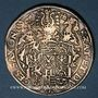 Coins Saxe. Christian II, Jean-Georges, Auguste (1591-1611). Taler 1596 HB. Dresde