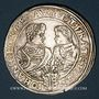 Coins Saxe. Christian II, Jean-Georges, Auguste (1591-1611). Taler 1610 HvR. Dresde