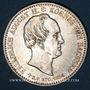 Coins Saxe. Frédéric Auguste II (1836-1854). 1/3 taler 1854. Commémoration de la mort du roi