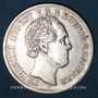 Coins Saxe. Frédéric Auguste II (1836-1854). 1/3 taler 1854