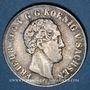 Coins Saxe. Frédéric Auguste II (1836-1854). 1/6 taler 1842 G