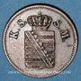 Coins Saxe. Frédéric Auguste II (1836-1854). 1 pfennig 1850 F