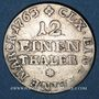 Coins Saxe. Frédéric Christian (octobre - décembre 1763). 1/12 taler 1763 FWoF