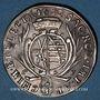 Coins Saxe. Jean Georges II (1656-1680). 2/3 taler (= gulden) 1680 CF