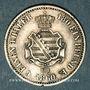 Coins Saxe. Jean I (1854-1873). 1/6 taler 1860 B