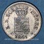 Coins Saxe. Jean I (1854-1873). 1 neugroschen 1861 B