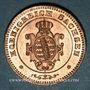 Coins Saxe. Jean I (1854-1873). 1 pfennig 1862 B