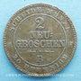 Coins Saxe. Jean I (1854-1873). 2 neugroschen 1864 B