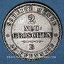 Coins Saxe. Jean I (1854-1873). 2 neugroschen 1866 B