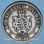 Coins Saxe. Jean I (1854-1873). 2 pfennig 1864 B