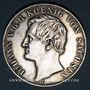 Coins Saxe. Jean I (1854-1873). Double taler 1859 F