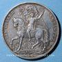 Coins Saxe. Jean I (1854-1873). Taler 1871. Victoire contre la France