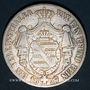 Coins Saxe. Jean I (1854-73). Taler 1857 F