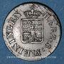 Coins Saxe-Meiningen. Bernard II Eric Freund (1803-1866). 1/4 kreuzer 1831