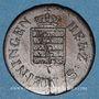 Coins Saxe-Meiningen. Bernard II Eric Freund (1803-1866). 1 pfennig 1833
