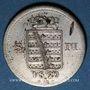 Coins Saxe-Meiningen. Bernard II Eric Freund (1803-1866). 6 kreuzer 1829 L
