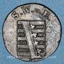 Coins Saxe-Weimar-Eisenach. Charles Auguste (1758-1828). 1 pfennig 1803