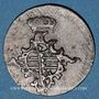 Coins Saxe-Weimar-Eisenach. Charles Auguste (1758-1828). 3 pfennig 1762 FS