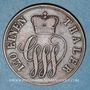 Coins Schaumbourg-Lippe. Georges Guillaume (1787-1860). 3 pfennig 1858 A