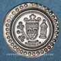 Coins Ulm. Atelier royal. Frédéric II (1215-1250). Bractéate