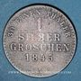 Coins Waldeck et Pyrmont. Georges Frédéric Henri (1813-1845). 1 groschen 1845 A