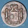 Coins Waldeck et Pyrmont. Georges Frédéric Henri (1813-1845). 1 pfennig 1825