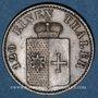 Coins Waldeck et Pyrmont. Georges Victor (1852-1893). 3 pfennig 1867 B