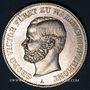 Coins Waldeck et Pyrmont. Georges Victor (1852-1893). Taler 1867 A