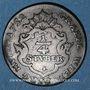 Coins Wied-Neuwied. Jean Frédéric Alexandre (1737-1791). 1/4 stuber 1752