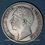 Coins Wurtemberg. Guillaume I (1816-1864). 1/2 gulden 1861