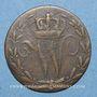 Coins Wurtemberg. Guillaume I (1816-1864). 6 kreuzer 1817