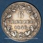 Coins Wurtemberg. Guillaume I (1816-1864). 6 kreuzer 1846