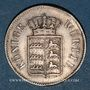 Coins Wurtemberg. Guillaume I (1816-1864). 6 kreuzer 1855
