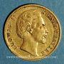 Coins Bavière. Louis II (1864-1886). 10 mark 1875 D.  (PTL 900‰. 3,98 g)
